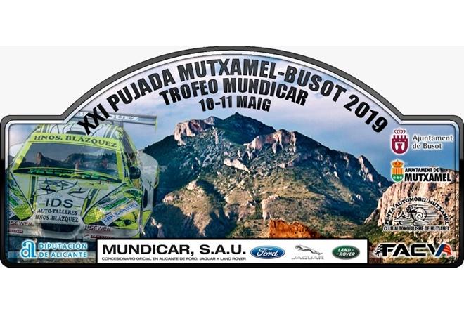 sb Mutxamel Busot 2019 placa