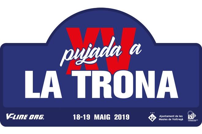 Subida a la Trona 2019 placa
