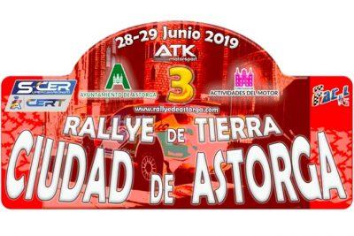 III rallye tierra astorga 2019 placa