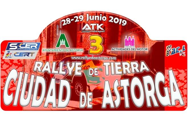 SCER + CERT: III Rallye de Tierra Ciudad de Astorga [28-29 Junio] III-rallye-tierra-astorga-2019-placa