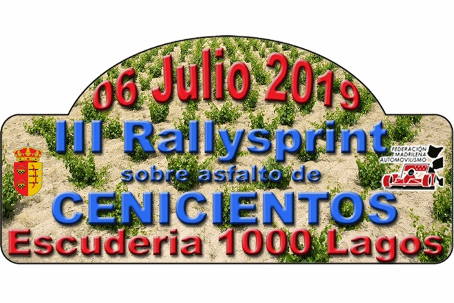 placa rallysprint cenicientos 2019