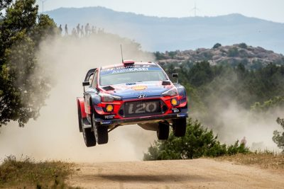 Dani Sordo y Carlos del Barrio ganan el Rallye de Cerdeña