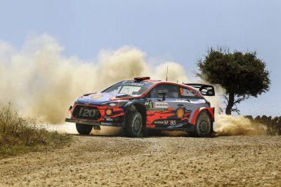 Sordo y Del Barrio lideran el Rallye de Cerdeña
