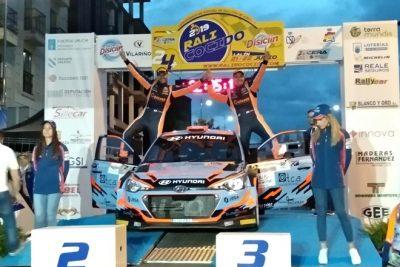 Ares-Vázquez al frente del Campeonato tras vencer en Lalín