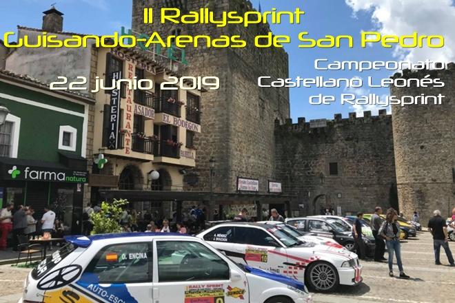 Castellano Leonés de Rallyes • Día 22 de junio 2019