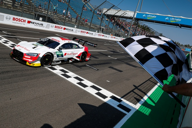 Audi DTM 2019 Lausitzring banderazo