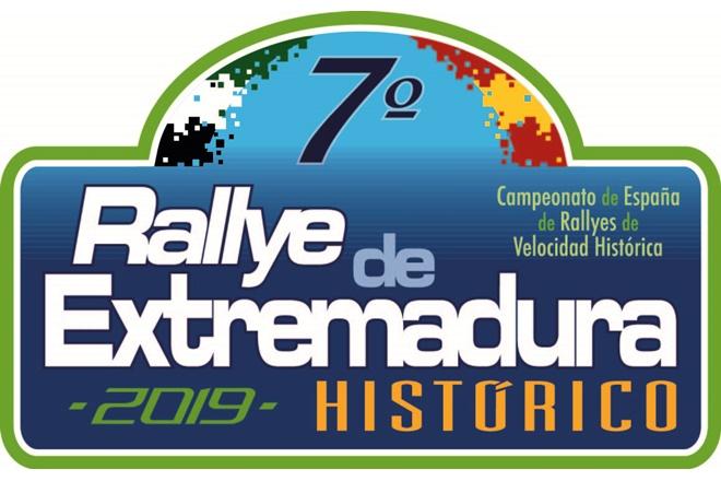 VII rallye extremadura historico 2019 placa