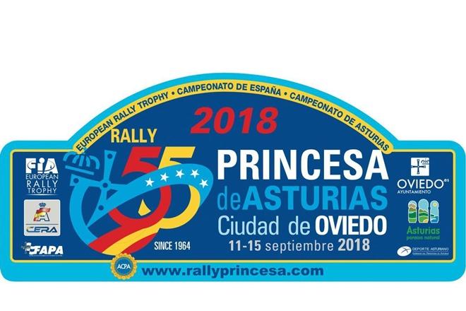 rallye princesa asturias 2019 placa