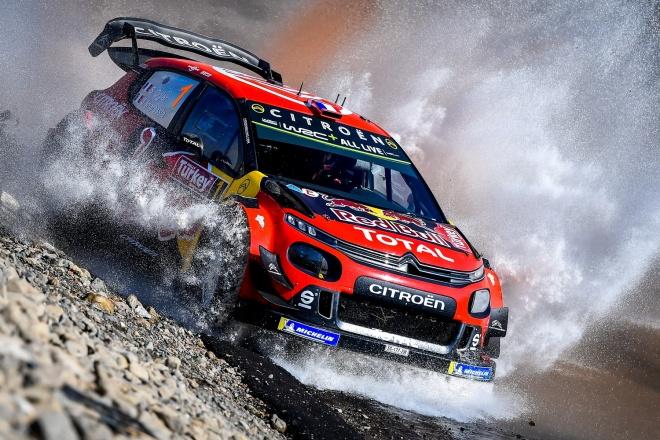 Ogier-Ingrassia Ctroen C3 WRC Rallye Turquía 19