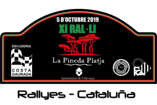 Rallye Pineda Playa placa 2019