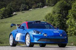 Nueva versión de carreras del Alpine A110 para Rallyes R-GT