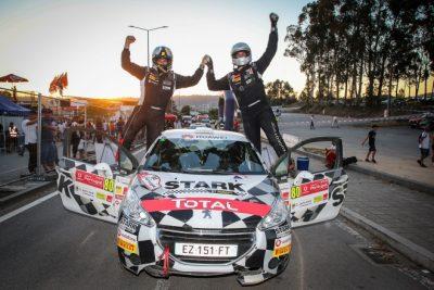Tercer triunfo consecutivo de Daniel Berdomás en la Peugeot Rally Cup Ibérica