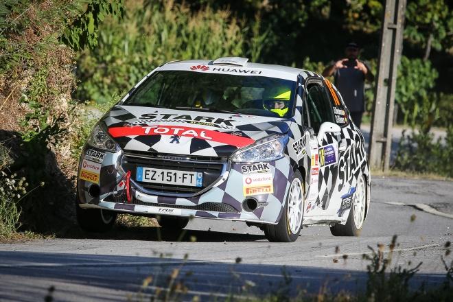 berdomas peugeot rally cup iberica rallye terras aboreira 2019