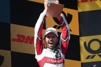 Rene Rast primer Campeón en el DTM de la era turbo