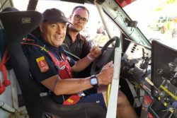 roberto carranza Promyges rally team
