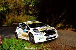 Óscar Palacio vuelve para ganar en el Rallye Montaña Central 2019