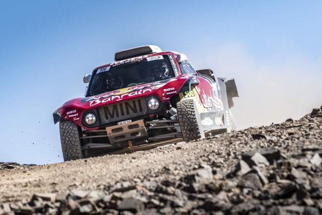 Rallye Marruecos sainz mini