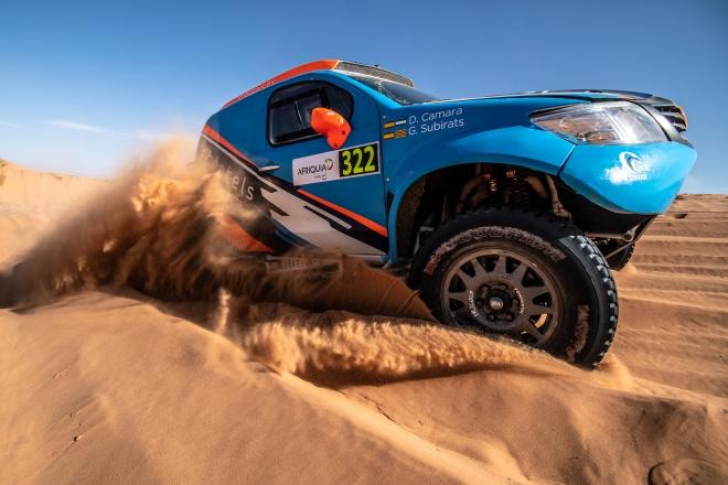Rallye Marruecos subirats toyota
