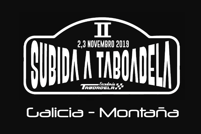 Subida Taboadela 2019 placa