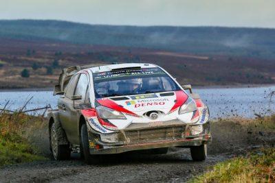Ott Tanak enfila el Título tras vencer en un complicado Rallye