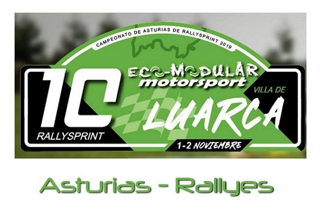 placa Rallysprint Villa Luarca 2019