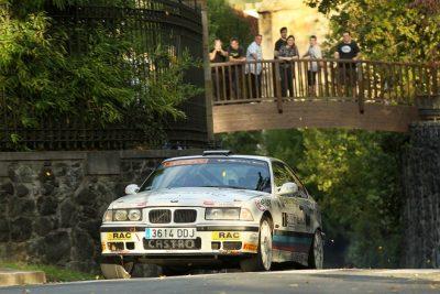 Aingeru Castro  Alaitz Urkiola ganadores del XXVI Rallye Gernika