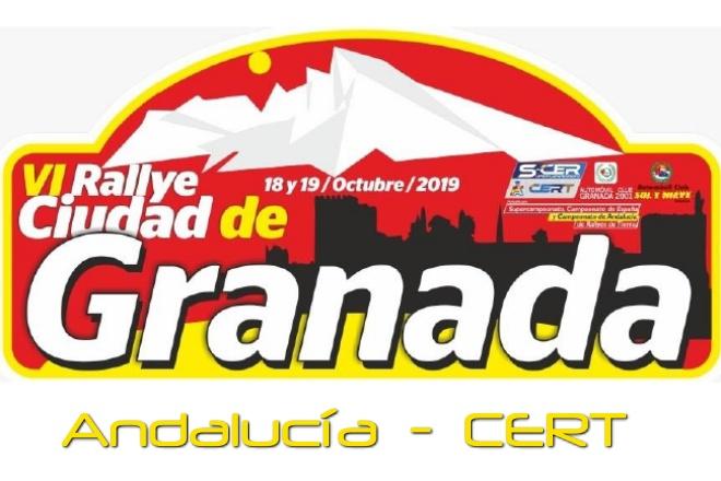 rallye tierra granada placa 2019