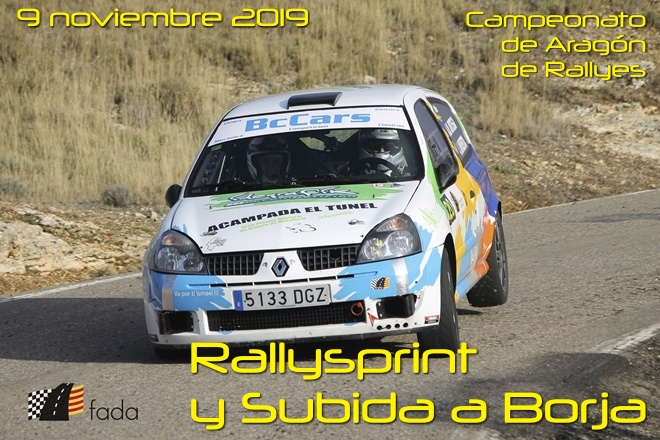 rs subida borja 2019 cartel