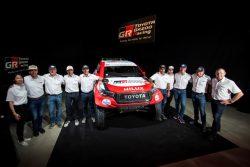 Toyota confirma la alineación del Dakar 2020 con Fernando Alonso y Marc Coma