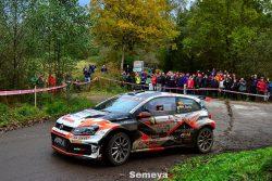 Alberto Ordoñez acaba con la superioridad de Palacio en el Rallye La Felguera 2019
