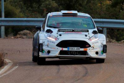 Ismael Pina y José Ángel Sanz logran el Título Aragonés de Rallyes