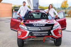 gutierrez-huete eclipse cross dakar 2020