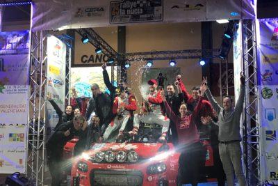 Pepe López Campeón de España de Rallyes