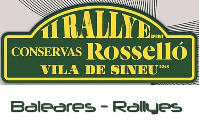 rallye bodegas rosello sineu 2019 cartel