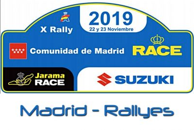 rallye madrid 2019 placa