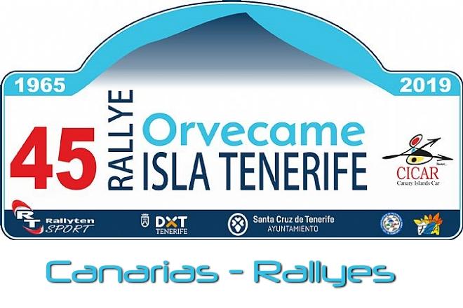 Rallye Tenerife 2019 placa