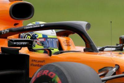 Primer podio de Carlos Sainz, tercero en el Gran Premio de Brasil
