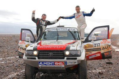 Joan Font y Borja Rodríguez se imponen en el Iriki Rally
