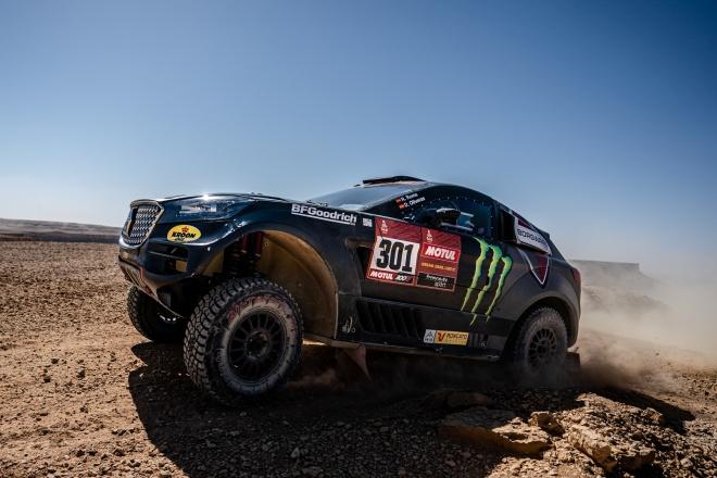 roma borward Dakar-etapa 9