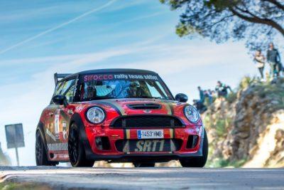 Alberto Frau-Tomeu Más imponen su Mini por 5 segundos en el Rallye Sol de Poniente