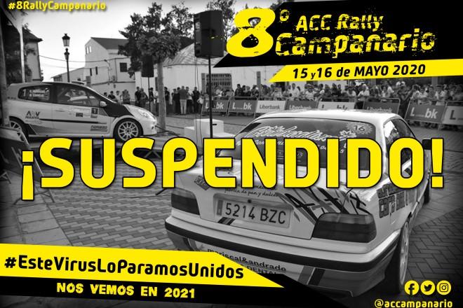 campanario rallye suspension