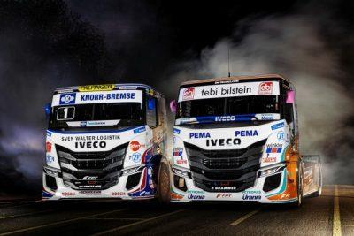 IVECO presenta sus nuevos camiones de competición S-WAY R