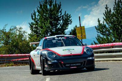 Domènech-Muntadas con Porsche se llevan Rallysprint de la Cerdanya