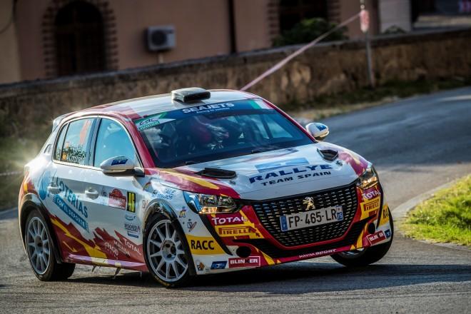 basas-coronado peugeot 208 r4 rallye roma 2020