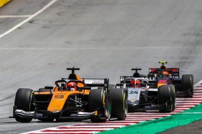 Campos Rácing en el Gran Premio de Estiria