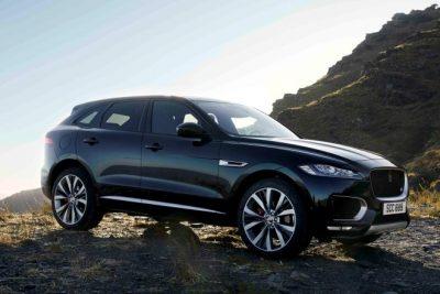 jaguar F-Pace front line fighhters 2020