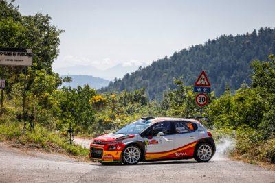 Liderato por Equipos en la primera prueba del ERC para el Rally Team España