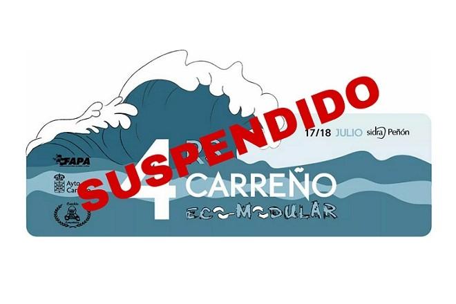 Suspendido el IV Rallysprint Carreño