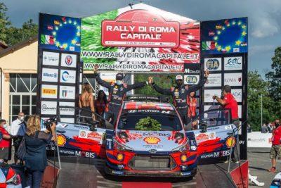 Primera victoria de la temporada para Dani Sordo en el Rally Stars di Roma Capitale