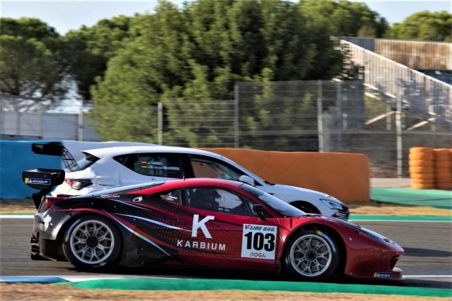 Mayola-Gutiérrez Ferrari 458 cer-gt jerez 2020